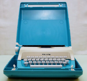 Vintage Petite Toy Typewriter with Cover