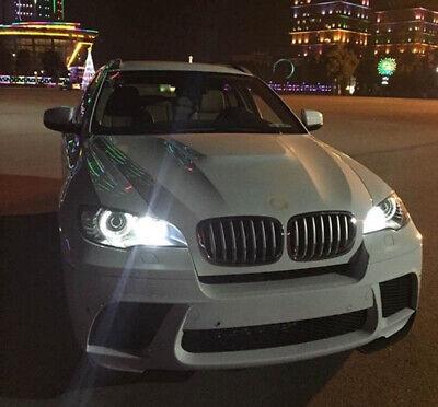 2X 120W Super White H8 LED Angel Eyes Ring Marker Bulbs For BMW 1 3 5 Series -