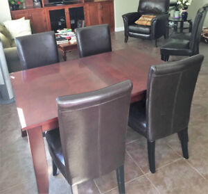 Table and 4 Chairs - $75