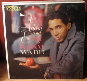 ADAM WADE Vinyl Album 1962 *60's Soul* on ZIRKON