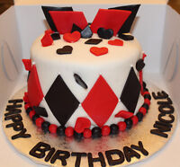 Custom Cakes, Cupcakes, cake pops and cookies!