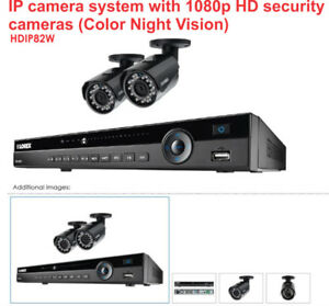 SECURITY CAMERAS IP with 1080p HD