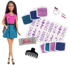 Brand New Barbie® Glitter Hair Design African-American Doll