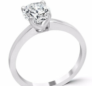 1.03 carat 14K new diamond solitaire engagement ring  CAD 6.000