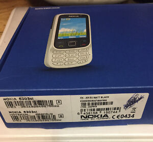 New Nokia 6303i classic/ prided reduced to $80