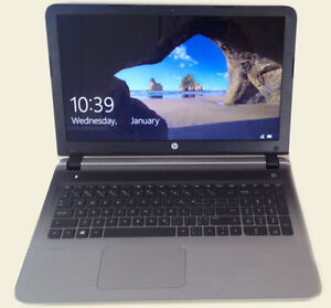 "LAPTOP HP PAVILION LAPTOP 15.6"" Silver / Argenté"