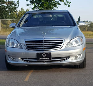 2008 Mercedes-Benz S class AWD in excellent condition