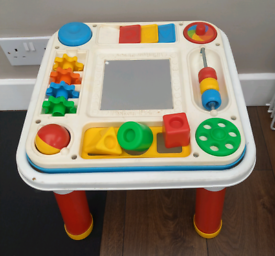Vintage 1992 Fisher Price activity table