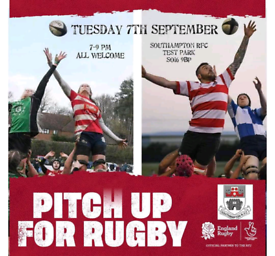 Southampton Rugby Club recruiting men and women