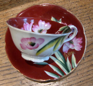 Tasse a thé  Occupied Japan Hand painted Tea cup