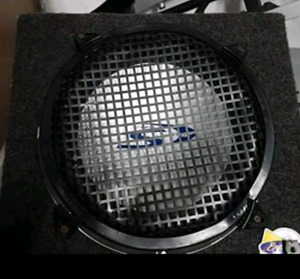 """12"""" Alpine Subwoofer and Amp and Capacitor"""