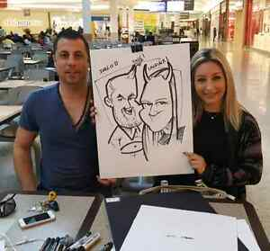 the wedding caricature art and portrait art  West Island Greater Montréal image 4