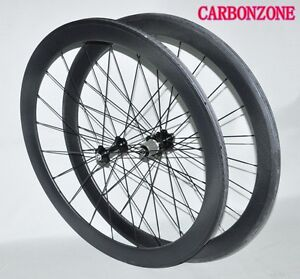 Hot sale 50mm 700C Carbon Road/TT bike/bicycle Tubular Wheels/ Wheelset-matt 3k