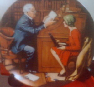 Collector Plates:   Norman Rockwell's