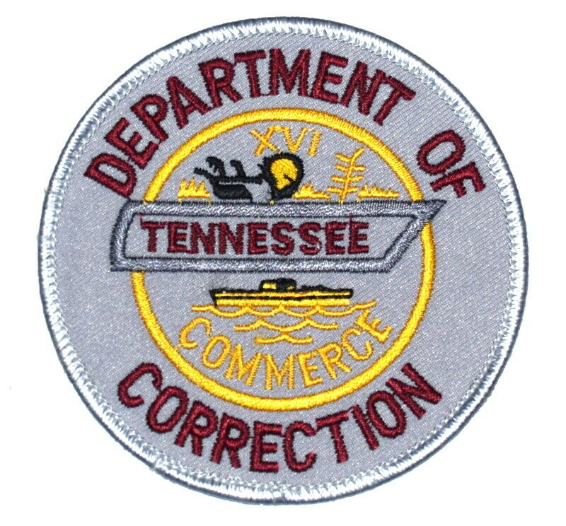TENNESSEE – DEPT OF CORRECTION – TN Sheriff Police Patch STATE SEAL SHIP ~