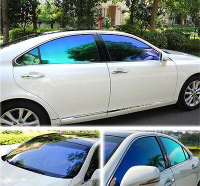 55%VLT Chameleon Side Window Tint Car Film Home Scratch Resistant 60