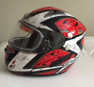 ZOX GENESSIS SN2 SVS SNOWMOBILE HELMET (SIZE L)