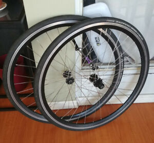 700C Wheelset - With Tires
