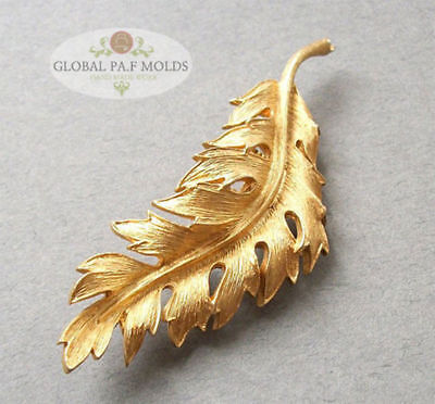 Sugarcraft Molds Polymer Clay Molds Cake Decorating Tools/Large Frond Leaf mold