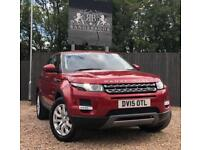 2015 15 LAND ROVER RANGE ROVER EVOQUE 2.2 SD4 PURE TECH 5DR DIESEL