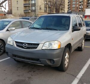 Mazda Tribute DX 2002 – Rare (4Cyl + AWD + 4WD + Manual )