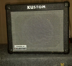 "Kustom KGA16r 8"" 2 Channel Guitar Combo with Reverb"