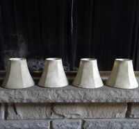 Faux Leather Chandelier/Lamp Shades