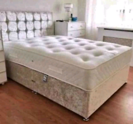 DIVAN BEDS SALE! UK MANUFACTURED Beds with FREE Headboard and Delivery
