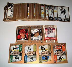 Lot de 163 cartes Hockey O-Pee-Chee 2006-07 Stars, Rookies et ++