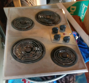 Electric stove top 30x21""
