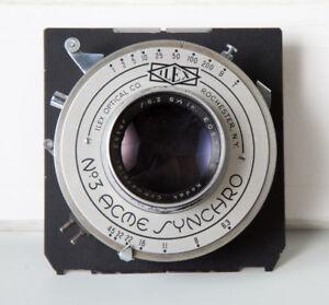 Large Format Kodak Lens on Shen Hao Board