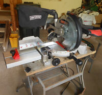 Compound Mitre Saw and Workmate Folding Bench