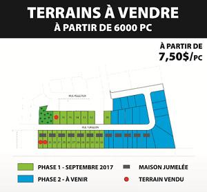 Terrain a vendre St-cyrille-de-wendover àproximité drummondville