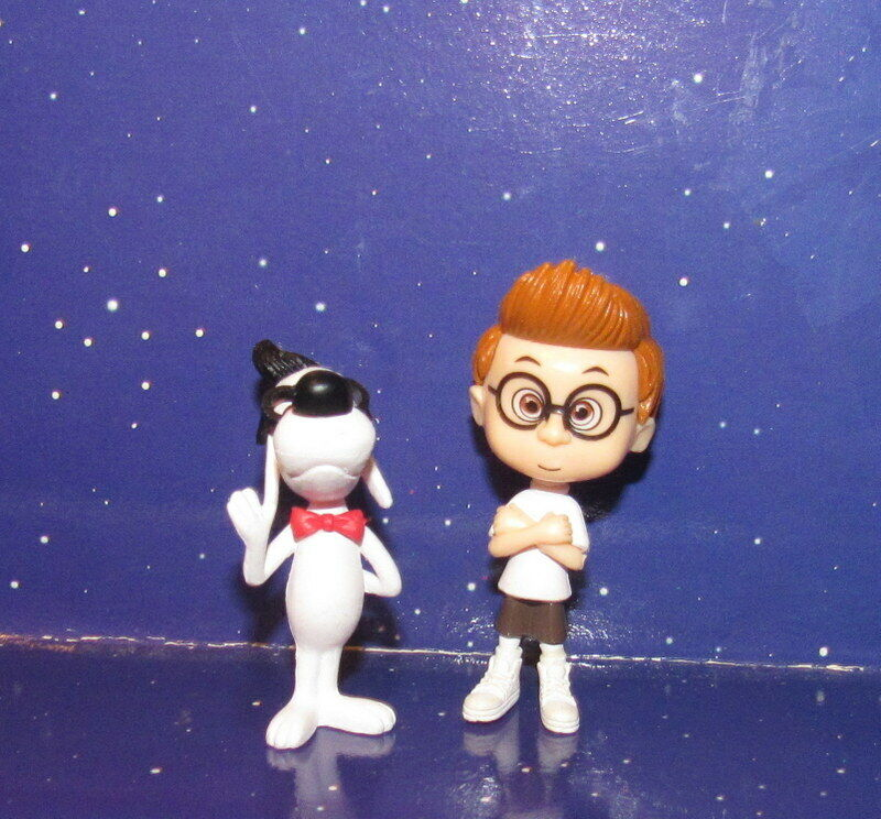 Mr. Peabody and Sherman Toy Figures Set
