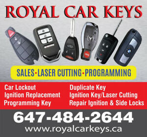 Ignition Repair/Lost Car Key Replacement/Key Fobs/Key Copy
