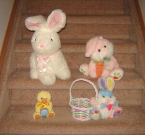 Easter Things - Bunnies, Basket, Flower Arrangement, etc.