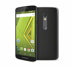 Moto X Play with Wallet Case and Screen Protector Peterborough Peterborough Area image 1