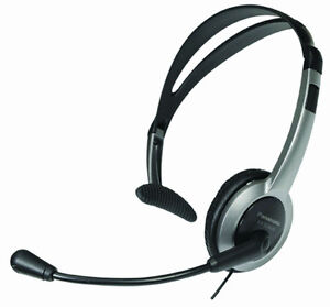 Comfort-Fit Foldable Headset