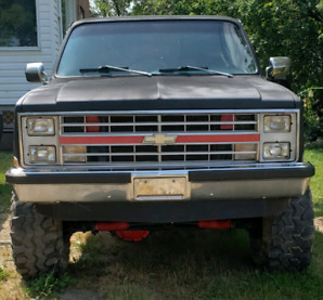 1985 Chev Short Box Step Side