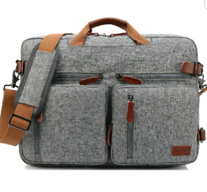 CoolBELL (GRAY) Convertible Laptop Backpack Rucksack