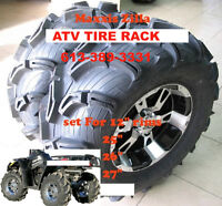Maxxis Zilla  TWO 25x8-12 & TWO 25x10-12 $341 ATV TIRE RACK
