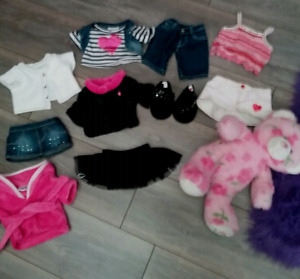 BUILD A BEAR AND ACCESSORIES (GIRLS)