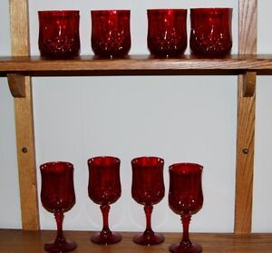 Red Wine Goblets & Tumblers