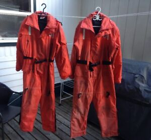 Two Mustang Survival Suits