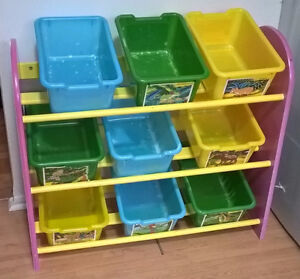 Dora the Explorer 9-Bin Toy Organizer,