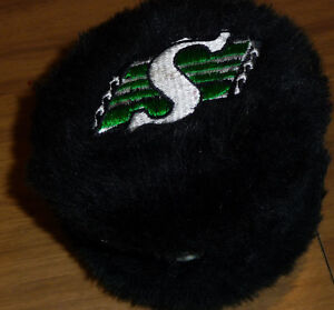 Sask Roughriders earmuffs, $5
