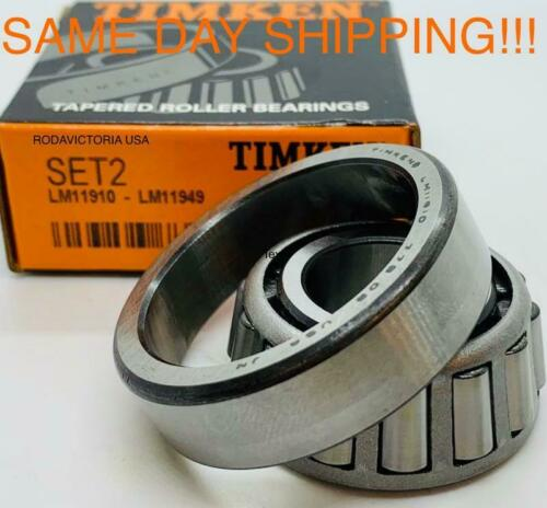 Timken USA Set2, Set 2 ( LM11949 & LM11910)  A2 Cup & Cone SAME DAY SHIPPING!!!!