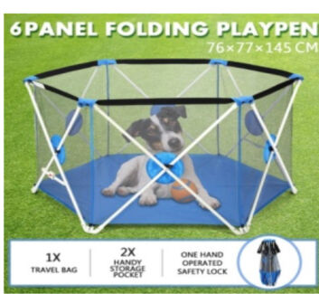 Play pen - 6 panel pop up