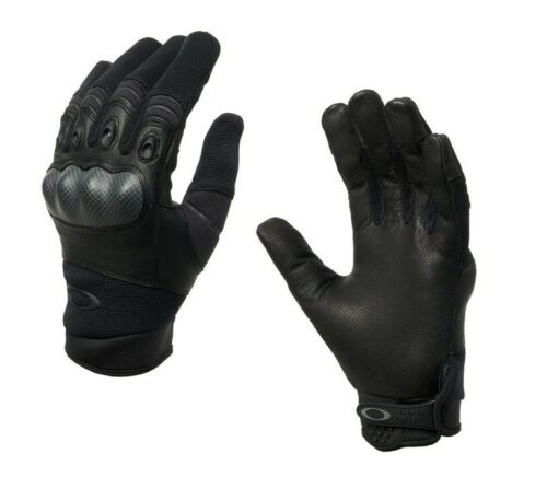 OAKLEY SI Standard Issue Factory Pilot 2.0 Black TAA Tactical Military Gloves
