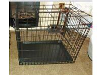 New medium dog cage